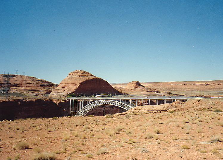 Glen Canyon Bridge  -  Colorado