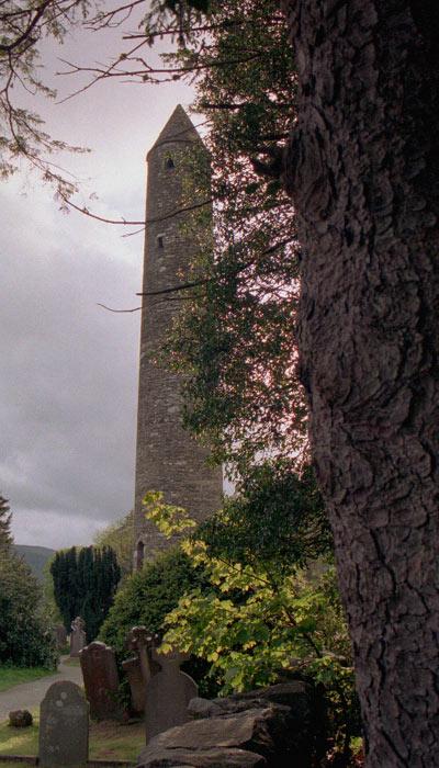 Glendalough - Rundturm