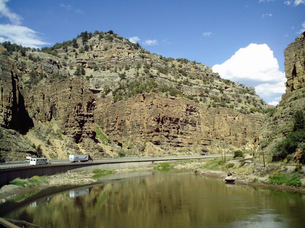 Glenwood Canyon , CO