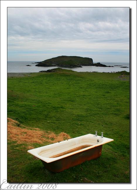 Gletness, Shetland, mai 2008