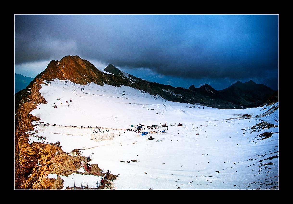 Gletscher beim Kitzsteinhorn