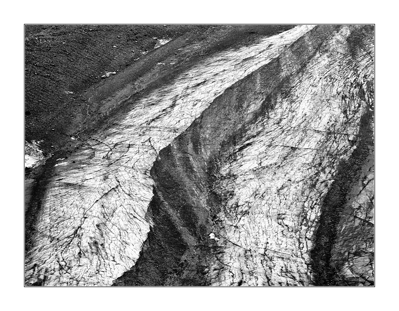 Gletscher Grafik