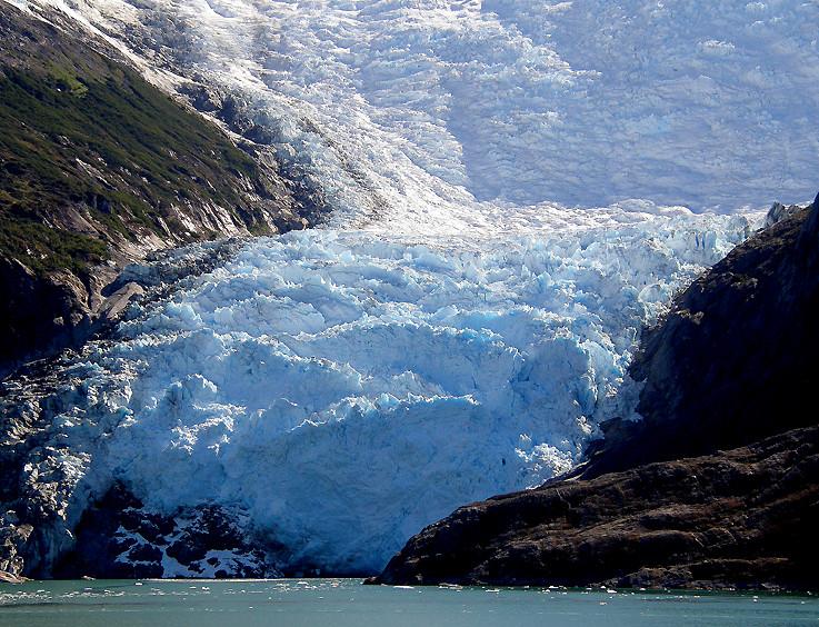 Gletscher im Beagle-Kanal