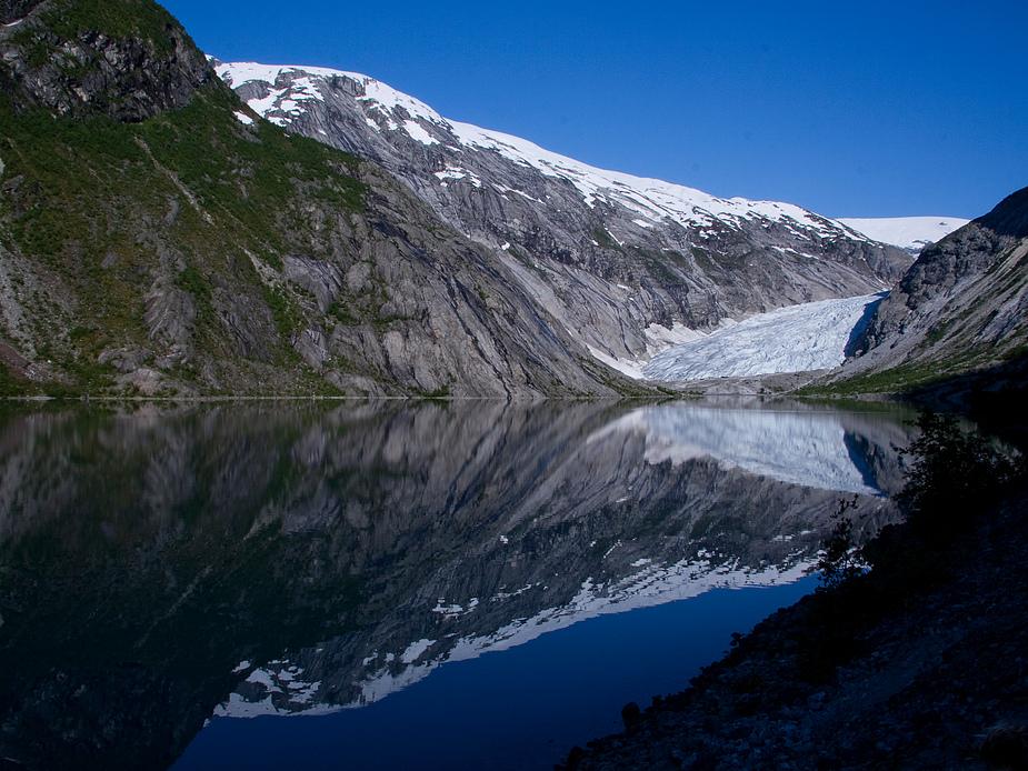 Gletscher in Morgenstimmung...