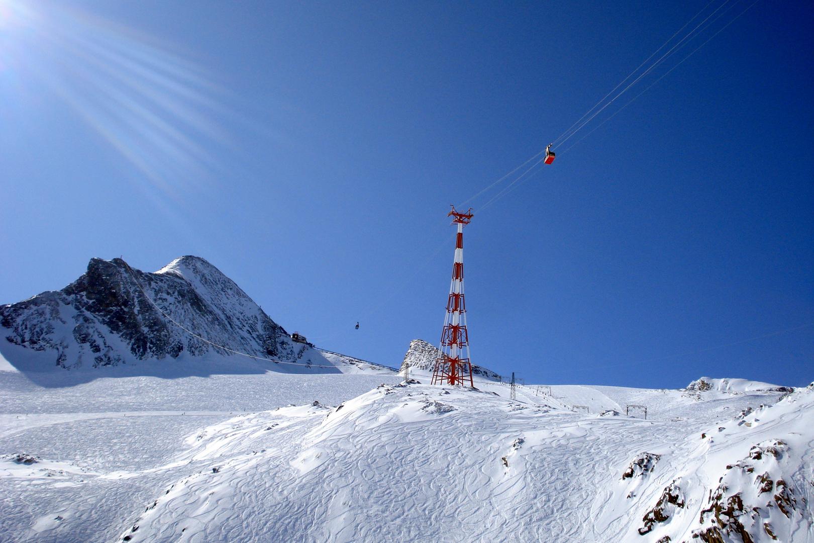 Gletscher Kitzsteinhorn Austria