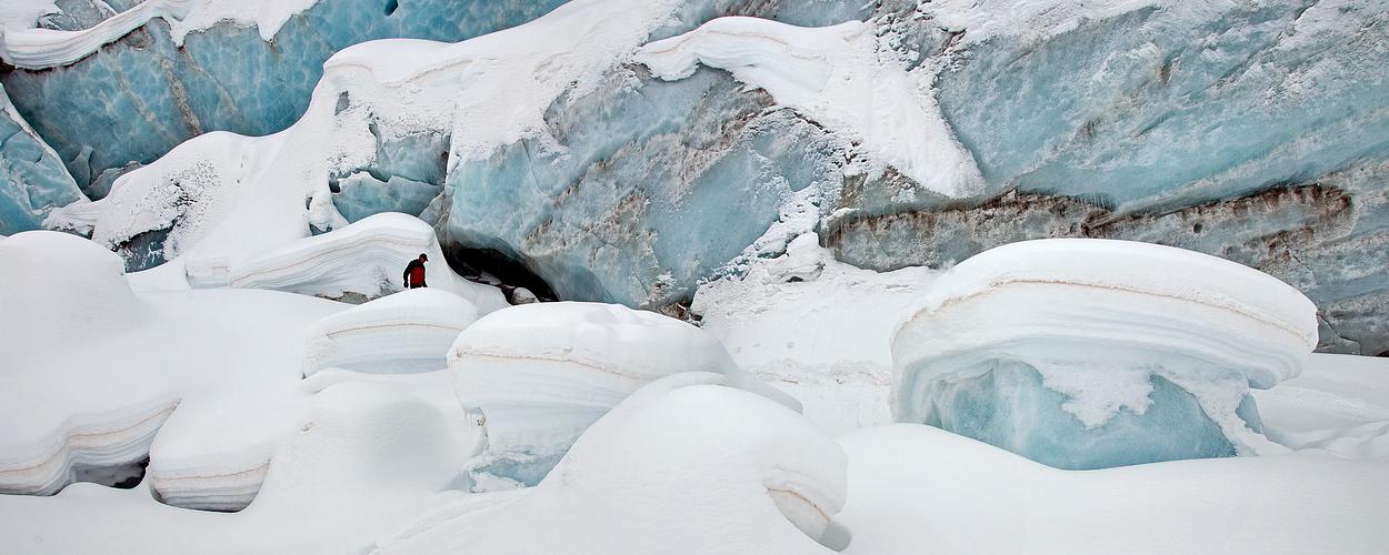 Gletscher-Landschaft