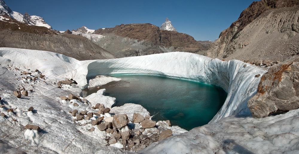 Gletscher-Pool