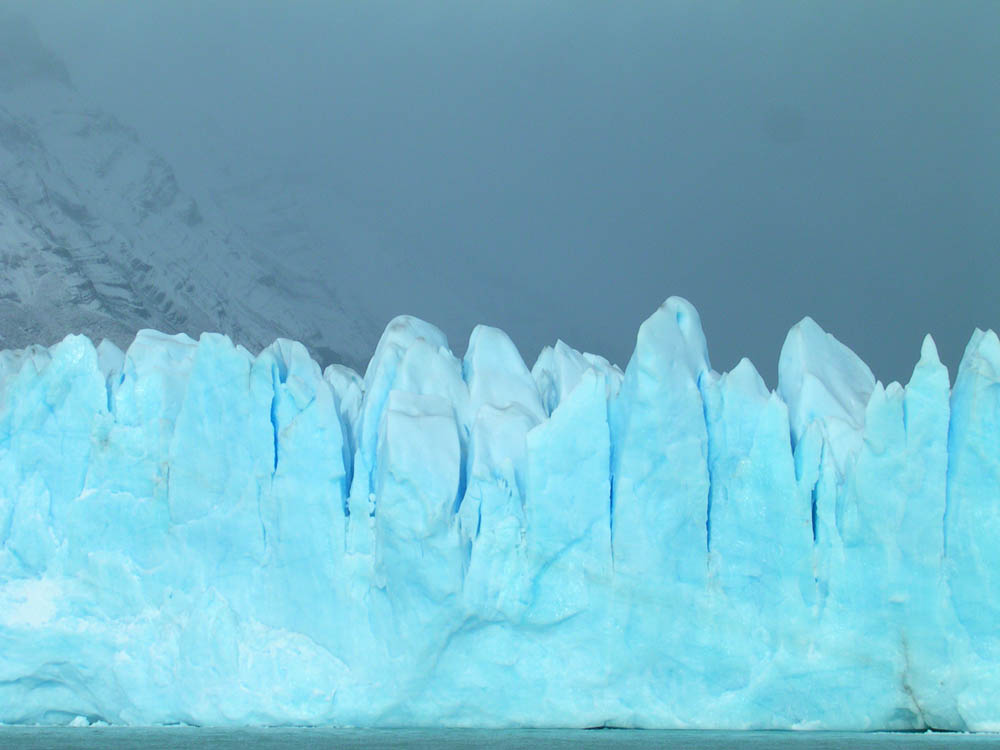 Gletscher-Wand