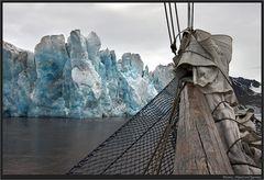 Gletscherblau...