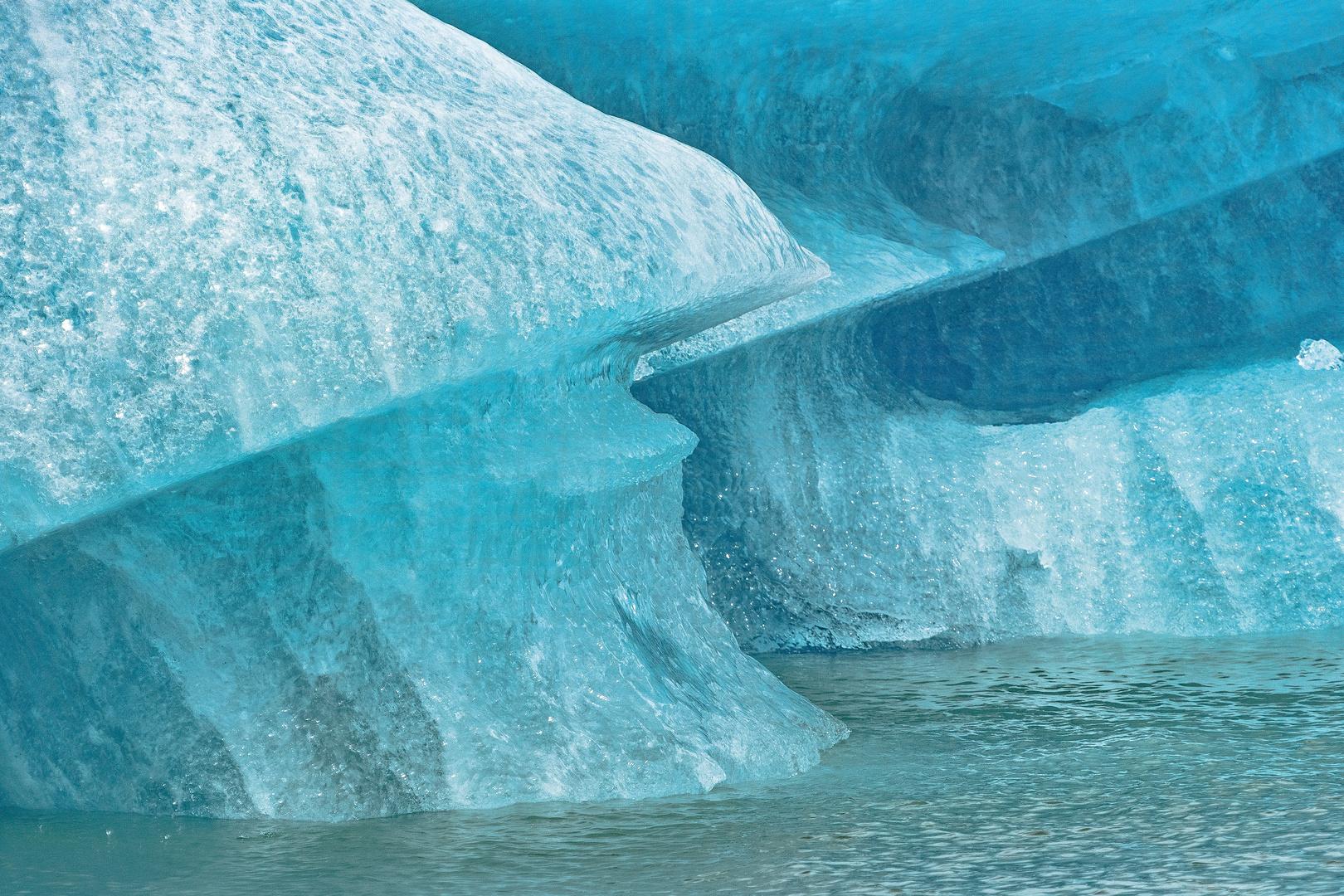 Gletschereis am Upsala Gletscher