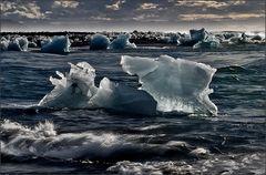 gletschereis im nordmeer