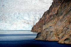 Gletschereis in Grönland (Prinz Christian Sund Passage )