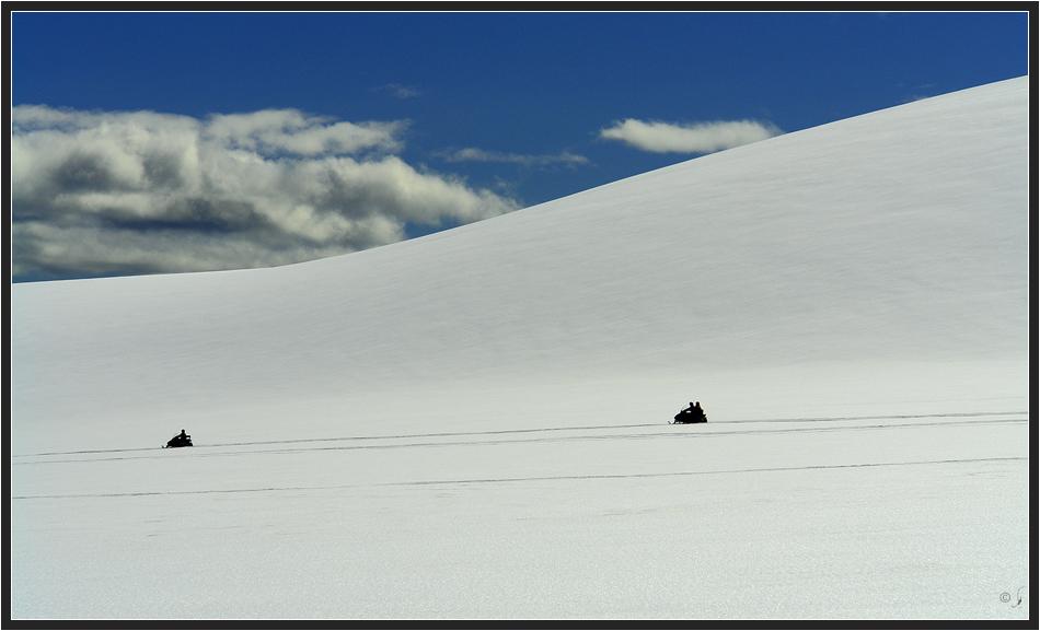 Gletscherfahrt...