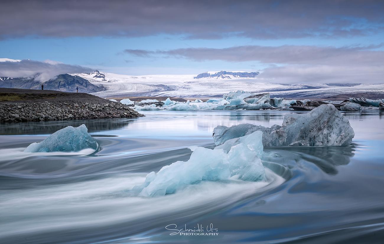 Gletscherflusslagune