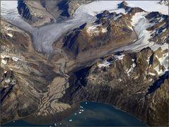 Gletschergrafik