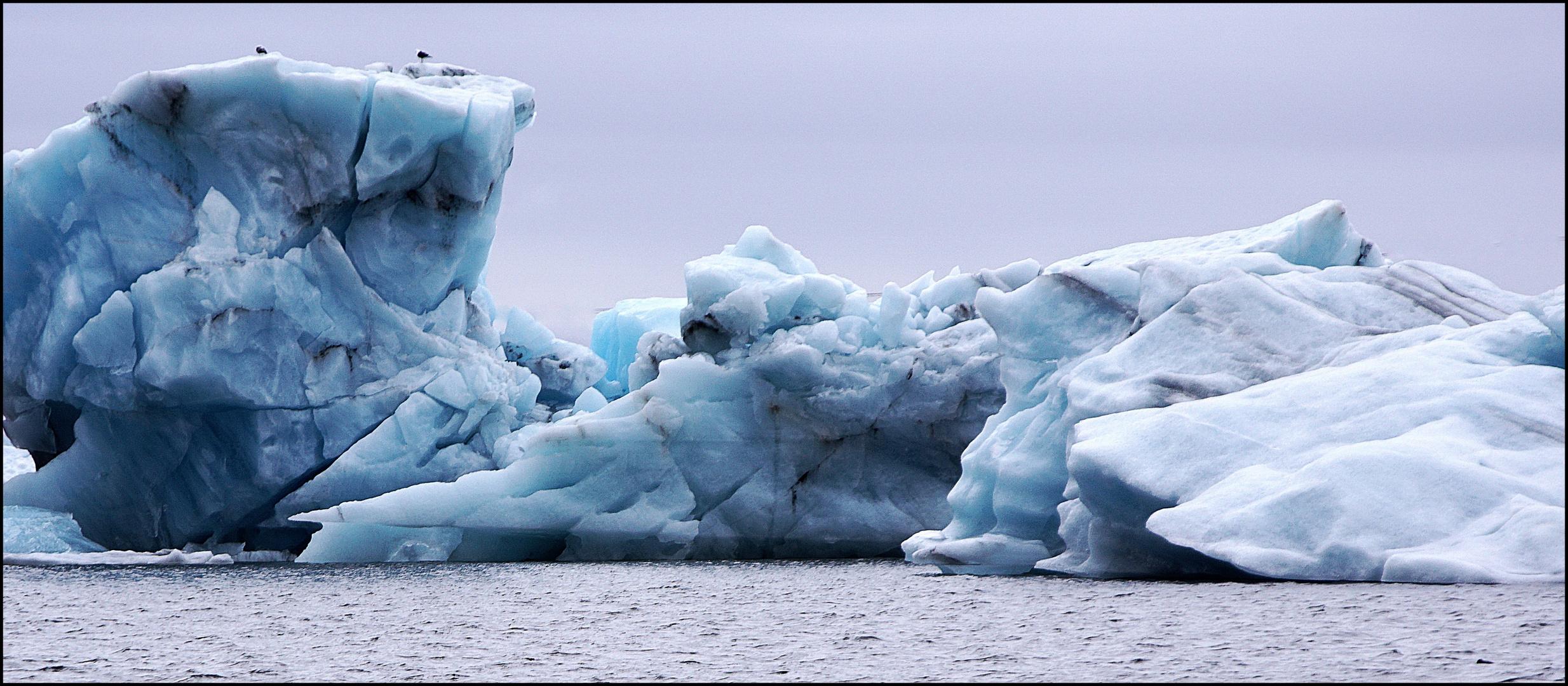 Gletscherlagune Jökulsarlon (Iceland) 2