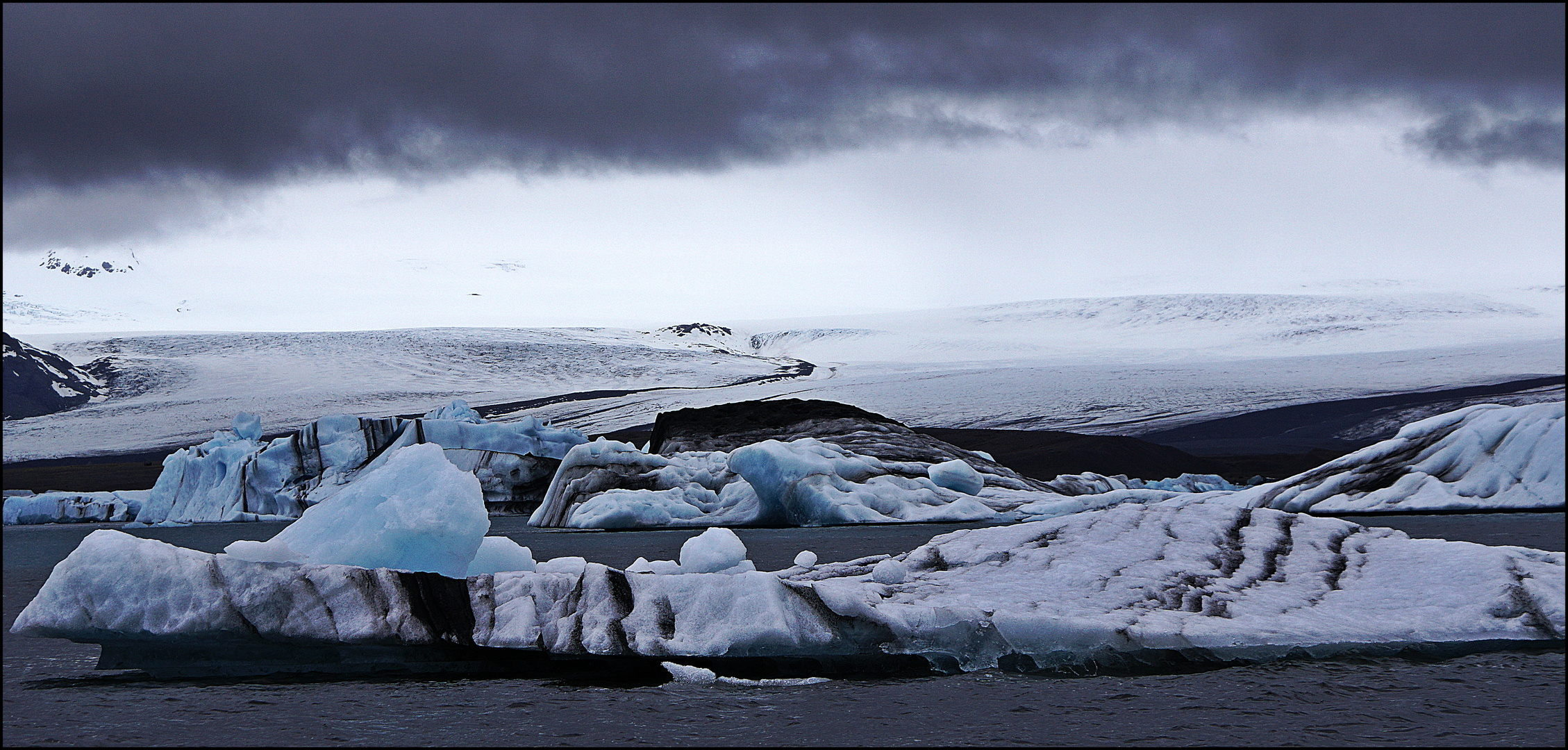 Gletscherlagune Jökulsarlon (Iceland)