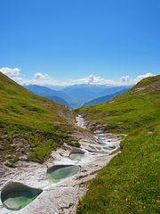 Gletschermühlen