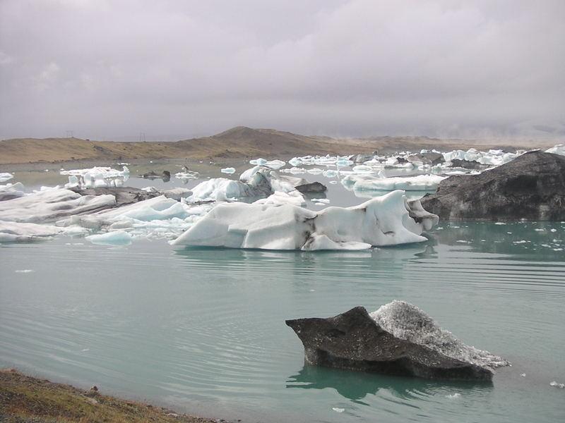 Gletschersee Island