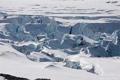 Gletscherspalten...