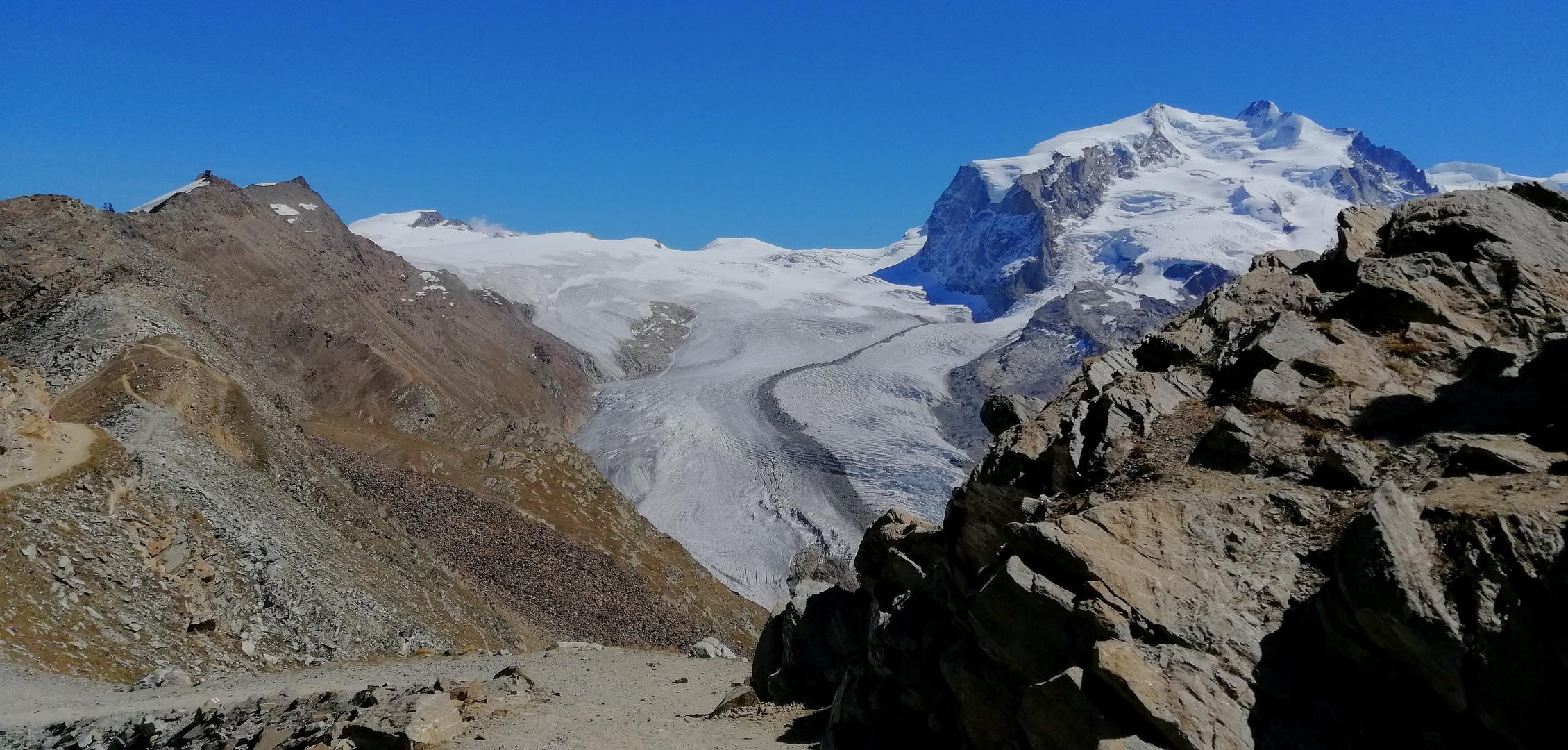 Gletscherwelt im Wallis