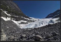 Gletscherzunge....