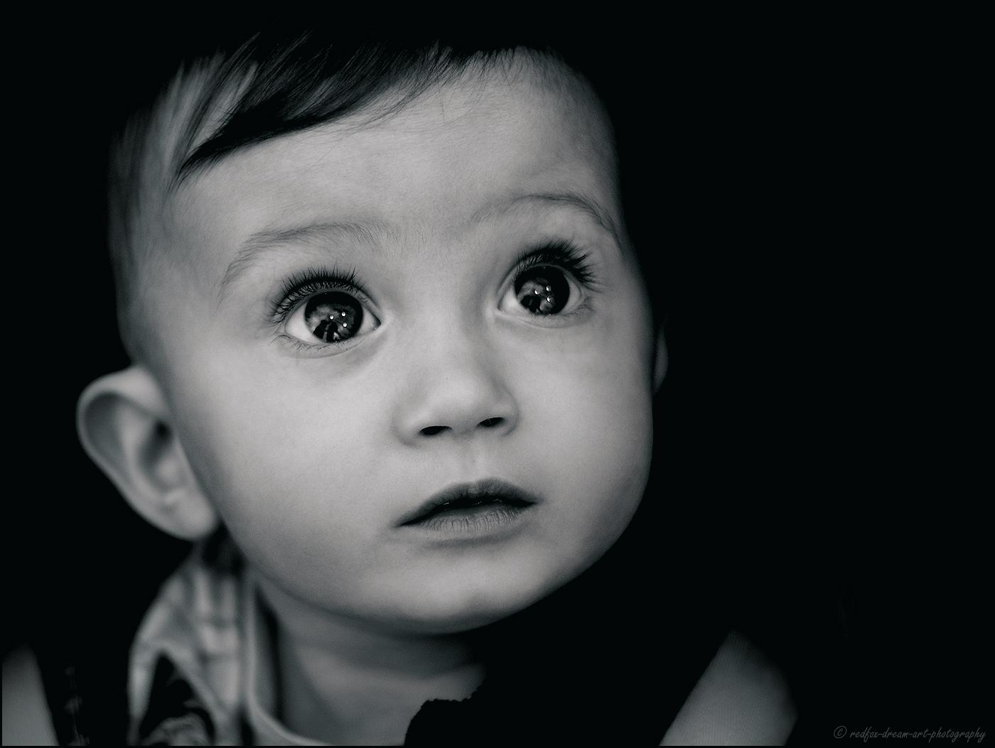 Gli occhi dei bambini non mentono mai..............