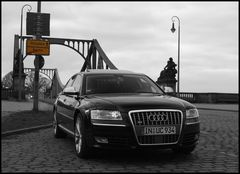 "Glienicker Brücke ""Neuauflage"" Audi S8"