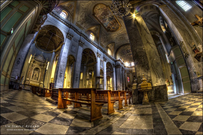 Église Saint Jean-Baptiste à Bastia