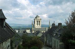Église St-Ronan in Locronan - Finistere (Bretagne)