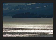 Glitzern auf dem See