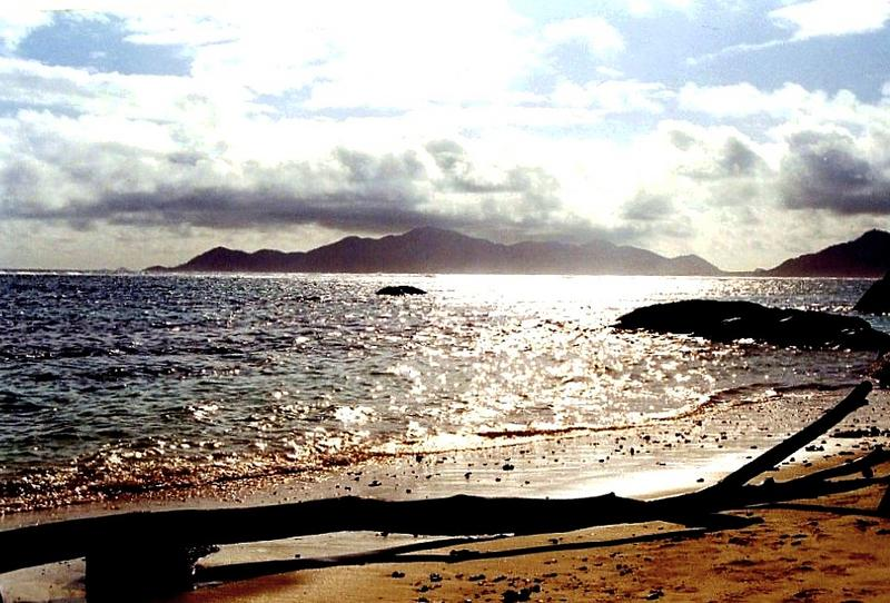 glitzernde Erinnerungen an Tage auf den Seychellen...