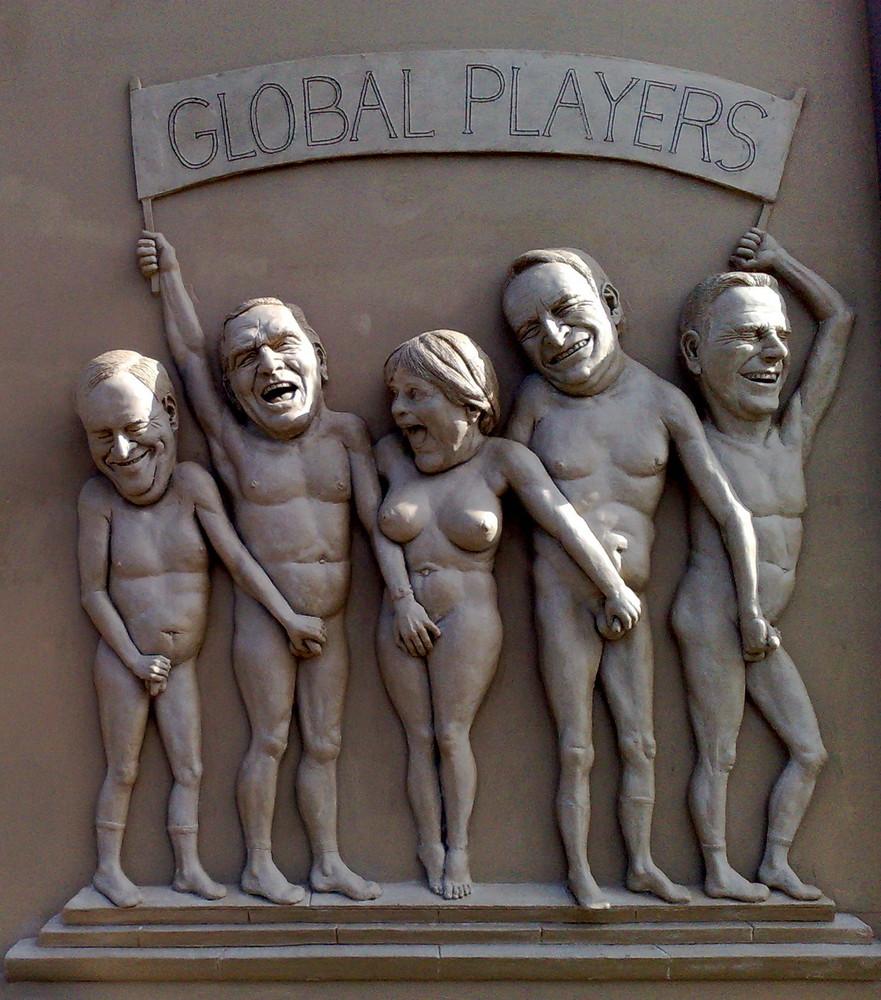 global players von lenk foto bild kunstfotografie kultur gem lde skulpturen skulpturen. Black Bedroom Furniture Sets. Home Design Ideas