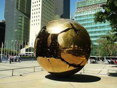 Globe at the UN