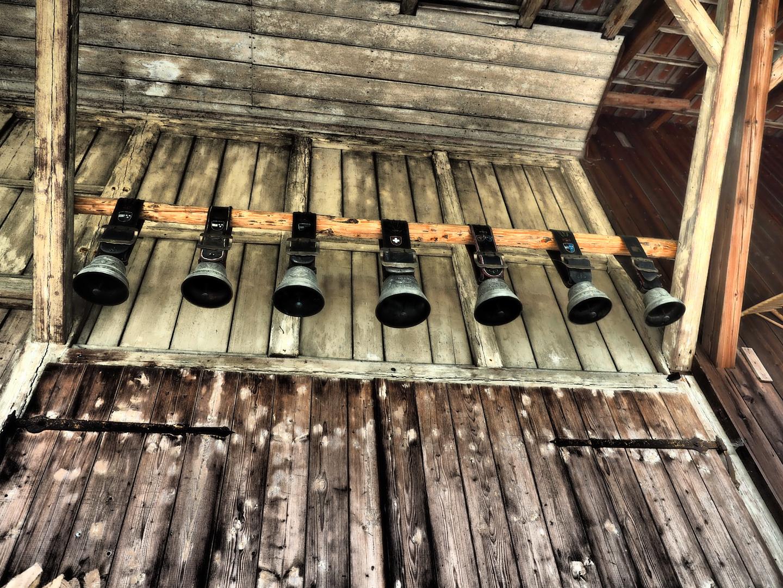 Glocken im Stillstand
