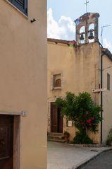 Glockenturm in Bagni San Filippo
