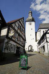 Glockenturm mit Waffel