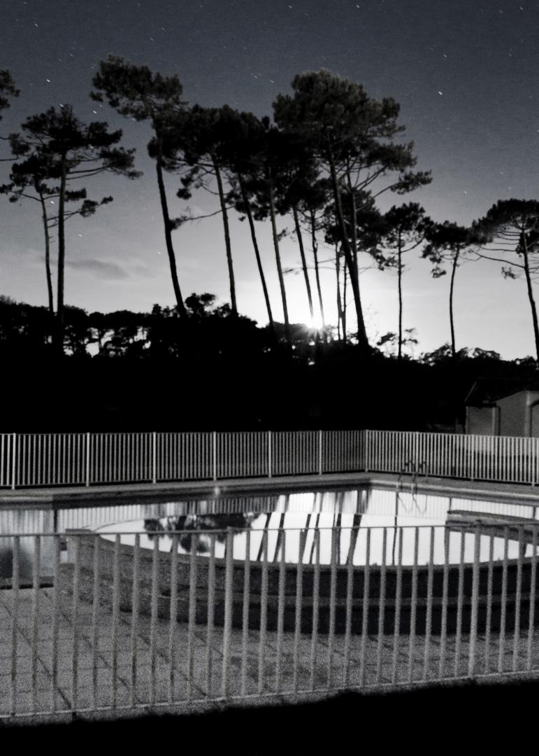 glossy pool