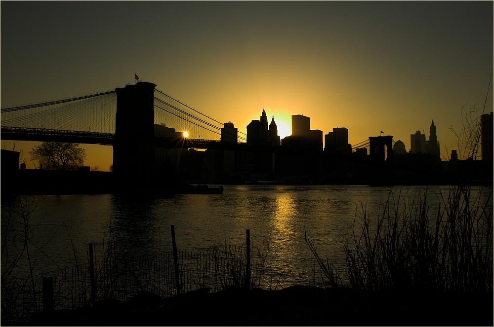 Glowing Manhattan