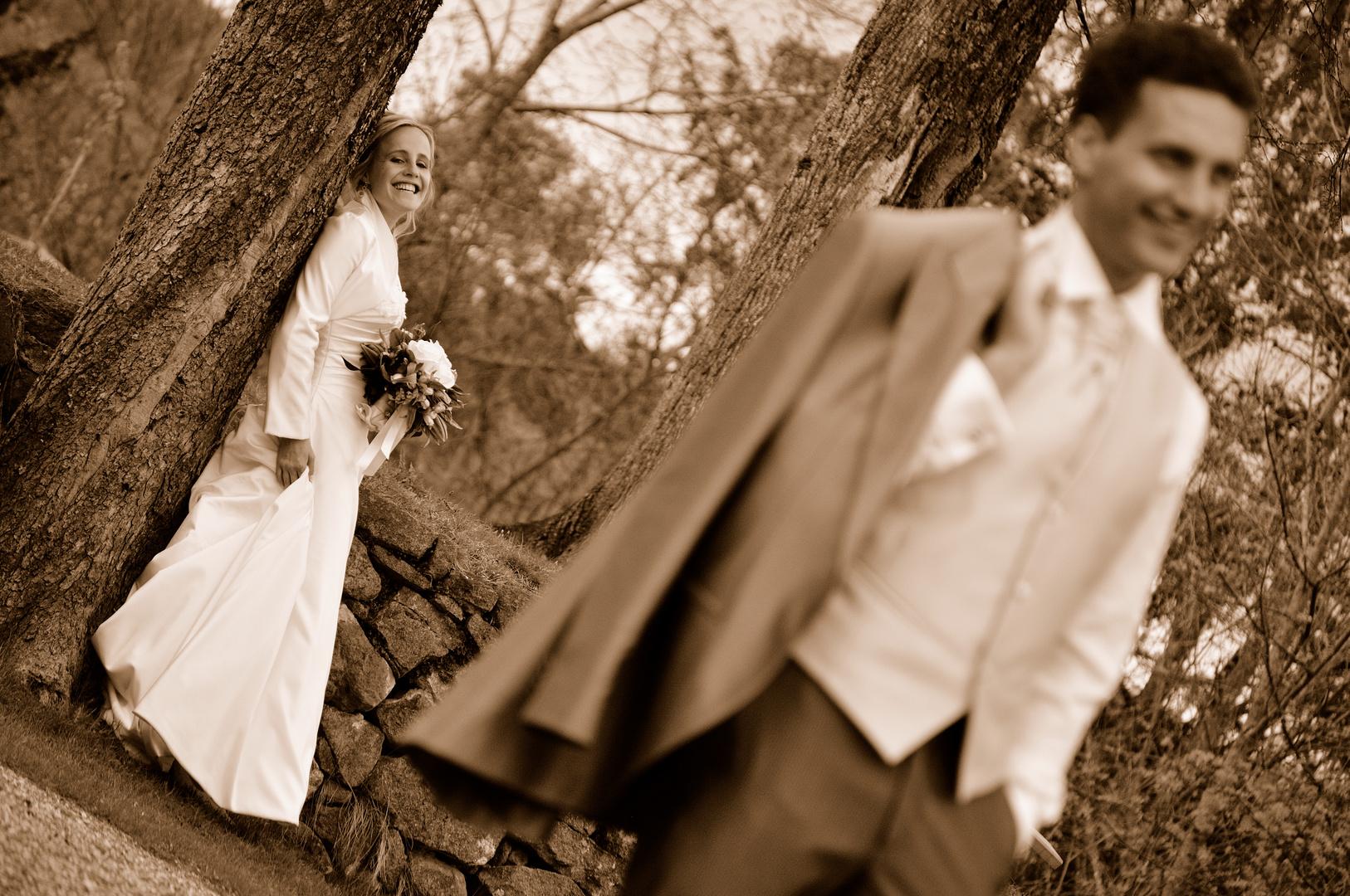 Glückliche Braut.....