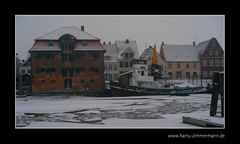 Glückstadt im Eis