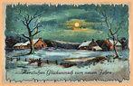 Glückwünsche zum Jahreswechsel