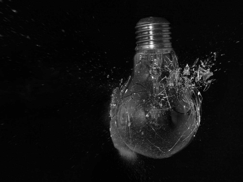 Glühbirne - Durchschuß