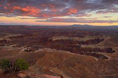 Glühender Abschied im Canyonlands National Park