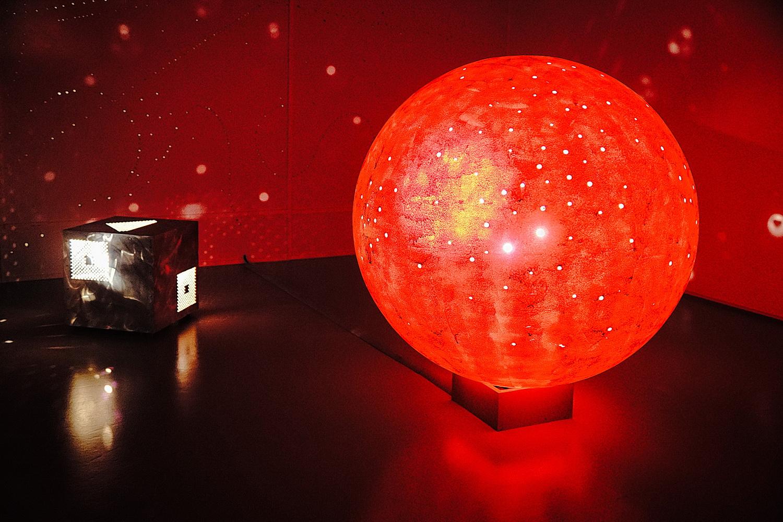 Glühender Ball