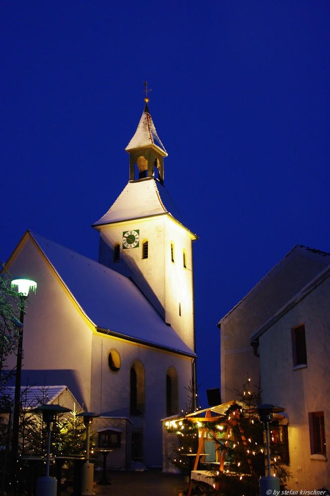 Glühweihnacht der Kaldorfer Vereine in Petersbuch