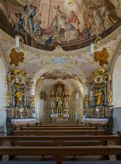 Gnadenkapelle in der  Wallfahrtskirche Mariä Himmelfahrt (Hohenpeißenberg)