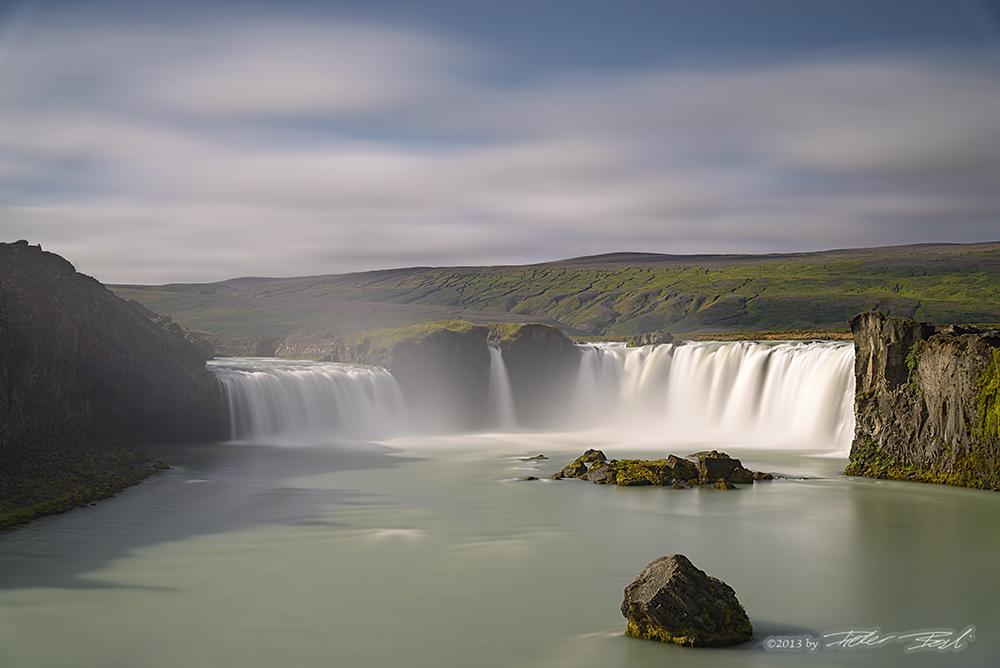 Goðafoss - Langzeitbelichtung