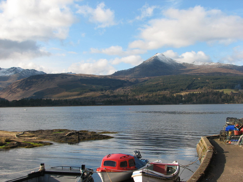Goat Fell Arran Scotland