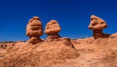 Goblins, Goblin Valley, Utah, USA